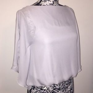 Alice + Olivia 100 % Silk Top